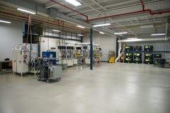 Βιομηχανικό εργοστάσιο κατασκευής, μηχανές βιομηχανίας Στοκ φωτογραφία με δικαίωμα ελεύθερης χρήσης