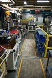 Βιομηχανικό εργοστάσιο κατασκευής, μηχανές βιομηχανίας στοκ εικόνες