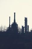 βιομηχανικό εργοστάσιο πετροχημικών Στοκ εικόνα με δικαίωμα ελεύθερης χρήσης