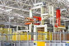 Βιομηχανικό εργοστάσιο Στοκ Φωτογραφία