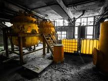 Βιομηχανικό εσωτερικό στοκ φωτογραφία