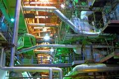 Βιομηχανικό εσωτερικό Στοκ Εικόνες