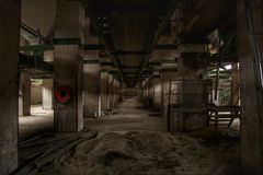 βιομηχανικό εσωτερικό στοκ φωτογραφίες