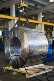 Βιομηχανικό ηλεκτρικό καλώδιο ισχύος Στοκ εικόνα με δικαίωμα ελεύθερης χρήσης