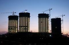 Βιομηχανικό ηλιοβασίλεμα Στοκ φωτογραφίες με δικαίωμα ελεύθερης χρήσης