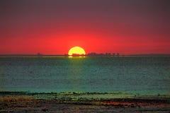 Βιομηχανικό ηλιοβασίλεμα Στοκ Εικόνες