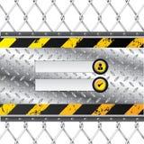 βιομηχανικό θέμα οθόνης άδειας εισόδου απεικόνιση αποθεμάτων