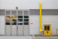 Βιομηχανικός μετρητής αερίου στοκ φωτογραφίες