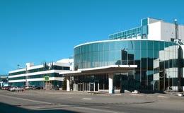 Βιομηχανικό κτήριο σύγχρονο Στοκ Φωτογραφία