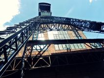 Βιομηχανικό κτήριο Στοκ φωτογραφία με δικαίωμα ελεύθερης χρήσης