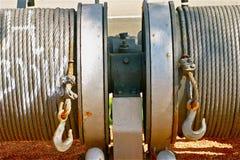 Βιομηχανικό ρυμουλκώντας καλώδιο Στοκ φωτογραφίες με δικαίωμα ελεύθερης χρήσης