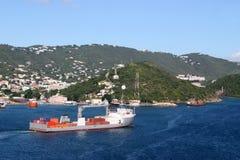 βιομηχανικό σκάφος Στοκ Εικόνα
