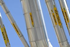 βιομηχανικό σύστημα σωληνώσεων Στοκ Εικόνα