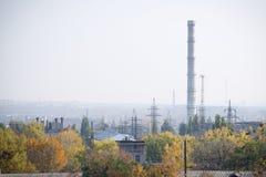 Βιομηχανικό τέταρτο μια άποψη φθινοπώρου Στοκ Εικόνα