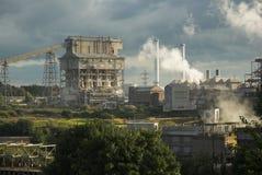 βιομηχανικό τοπίο στοκ εικόνα