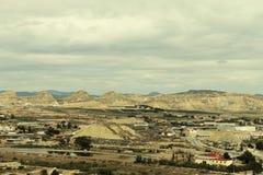 Βιομηχανικό τοπίο Lorca Στοκ Εικόνες