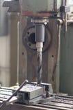 Βιομηχανικό τρυπάνι σιδήρου Στοκ Φωτογραφίες