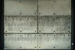 Βιομηχανικό υπόβαθρο σχεδίων συμπαγών τοίχων Στοκ φωτογραφία με δικαίωμα ελεύθερης χρήσης