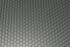 Βιομηχανικό υπόβαθρο φιαγμένο από hexagons μετάλλων Στοκ Φωτογραφία