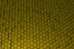 Βιομηχανικό υπόβαθρο φιαγμένο από hexagons μετάλλων Στοκ εικόνα με δικαίωμα ελεύθερης χρήσης