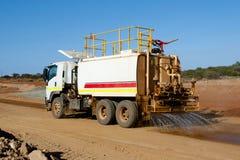 Βιομηχανικό φορτηγό νερού στοκ εικόνες με δικαίωμα ελεύθερης χρήσης