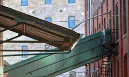 Βιομηχανικό awning Στοκ Εικόνα