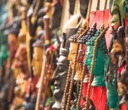 Βιοτεχνίες στο Κατμαντού (κεφάλια του Βούδα), Νεπάλ Στοκ εικόνα με δικαίωμα ελεύθερης χρήσης