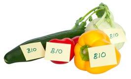 βιο λαχανικά Στοκ Εικόνες