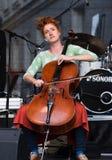 βιολοντσελίστας Στοκ εικόνες με δικαίωμα ελεύθερης χρήσης