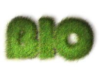 βιο eco σχεδίου έννοιας φι&lamb Στοκ Εικόνα
