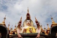 βιρμανός ναός Στοκ Εικόνες