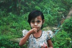 βιρμανός παιδιά Στοκ Εικόνες