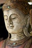 βιρμανός ύφος του Βούδα Στοκ Φωτογραφία
