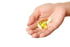 βιταμίνες εκμετάλλευσ&et Στοκ Εικόνα