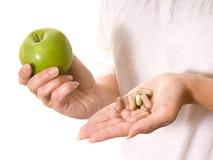 βιταμίνες μήλων στοκ φωτογραφία με δικαίωμα ελεύθερης χρήσης