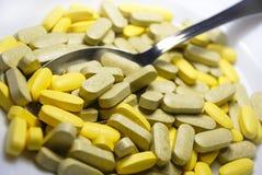 βιταμίνες προγευμάτων στοκ εικόνα με δικαίωμα ελεύθερης χρήσης