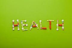 βιταμίνες υγείας στοκ φωτογραφία