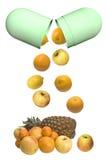 βιταμίνες στοκ φωτογραφίες