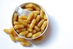 Βιταμίνη γάλακτος μελιού Στοκ εικόνες με δικαίωμα ελεύθερης χρήσης