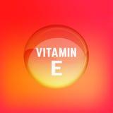 Βιταμίνη Ε 02 Α Στοκ εικόνα με δικαίωμα ελεύθερης χρήσης