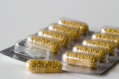 βιταμίνη χαπιών γ Στοκ φωτογραφίες με δικαίωμα ελεύθερης χρήσης