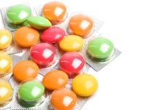 βιταμίνη χαπιών Στοκ Φωτογραφία
