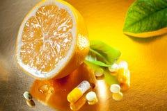 Βιταμίνη C Στοκ εικόνες με δικαίωμα ελεύθερης χρήσης