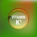 Βιταμίνη K1 02 Α Στοκ Εικόνα