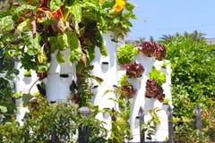 Βιώσιμη διαβίωση πύργων κήπων Στοκ εικόνες με δικαίωμα ελεύθερης χρήσης