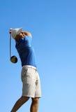 βλάστηση παικτών γκολφ γκολφ σφαιρών Στοκ εικόνες με δικαίωμα ελεύθερης χρήσης