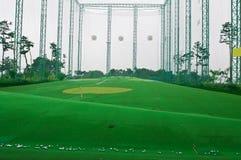 βλάστηση σειράς γκολφ στοκ εικόνες με δικαίωμα ελεύθερης χρήσης