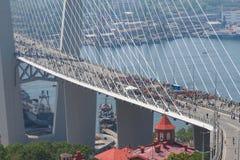 ΒΛΑΔΙΒΟΣΤΌΚ, ΡΩΣΙΑ - 7 ΙΟΥΛΊΟΥ: Στιγμιαίος-όχλος  Στοκ εικόνες με δικαίωμα ελεύθερης χρήσης