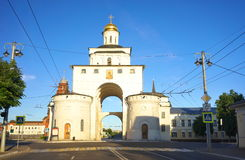 ΒΛΑΝΤΙΜΊΡ, ΡΩΣΙΑ - 17 Ιουνίου 2015: Ο χρυσός Γκέιτς vladimir Στοκ Φωτογραφίες