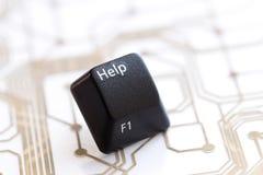 Βοήθεια κουμπιών Στοκ εικόνα με δικαίωμα ελεύθερης χρήσης